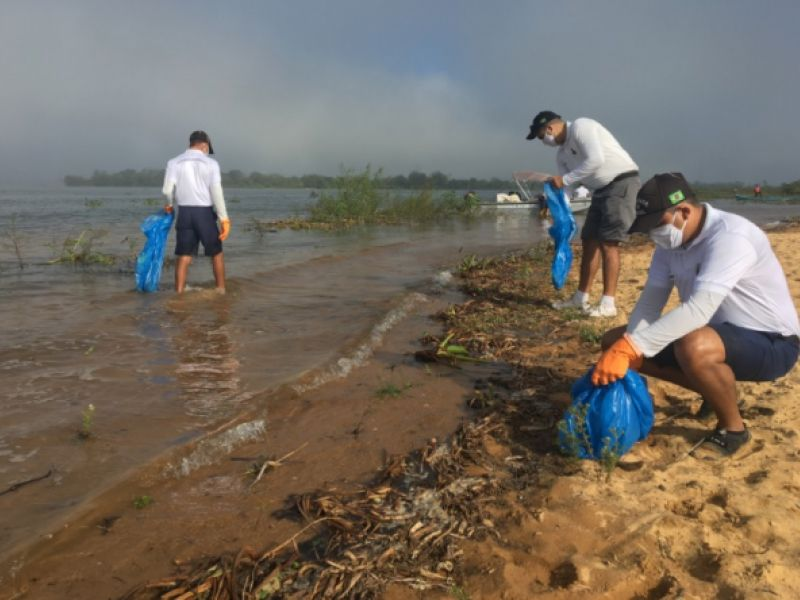 Agência Fluvial de Penedo realiza ações pela passagem do Dia Mundial da Limpeza