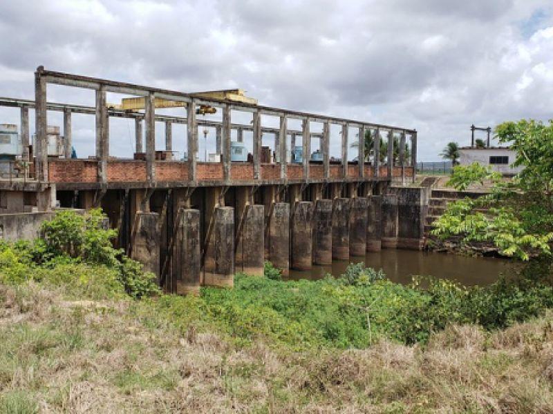 Codevasf realiza estudos para drenagem gravitária do rio Boacica em Igreja Nova