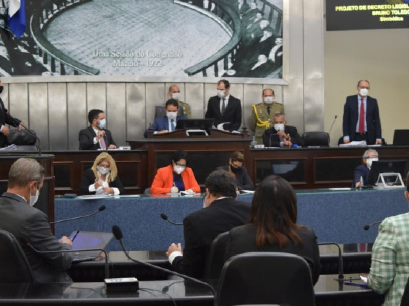 Assembleia Legislativa aprova estado de calamidade pública na cidade de Maceió