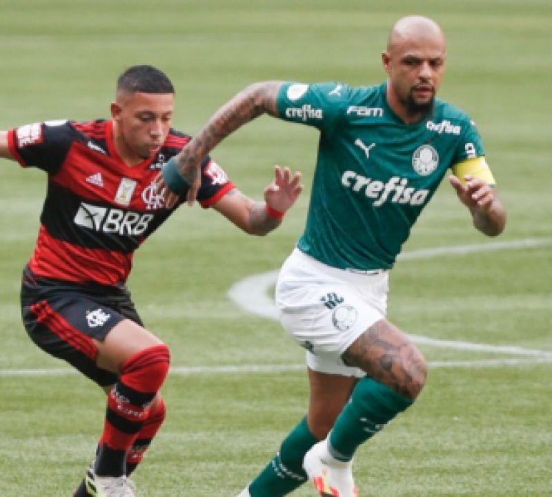 Em jogo equilibrado, Palmeiras e Flamengo empatam pela Série A do Brasileirão