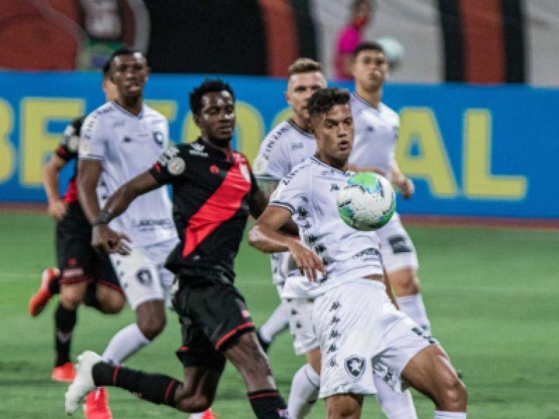 Atlético-GO e Botafogo empatam pela 12ª rodada do Campeonato Brasileiro