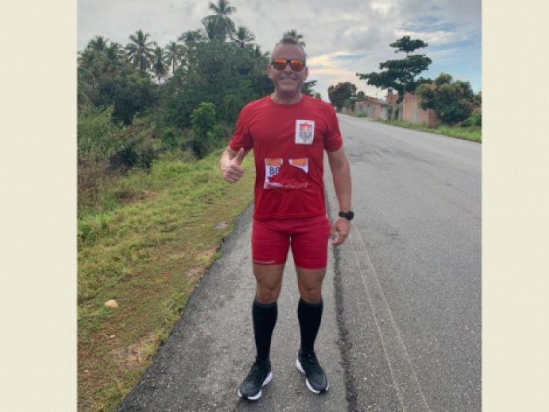 Atleta penedense participa de meia-maratona com atletas de vários países