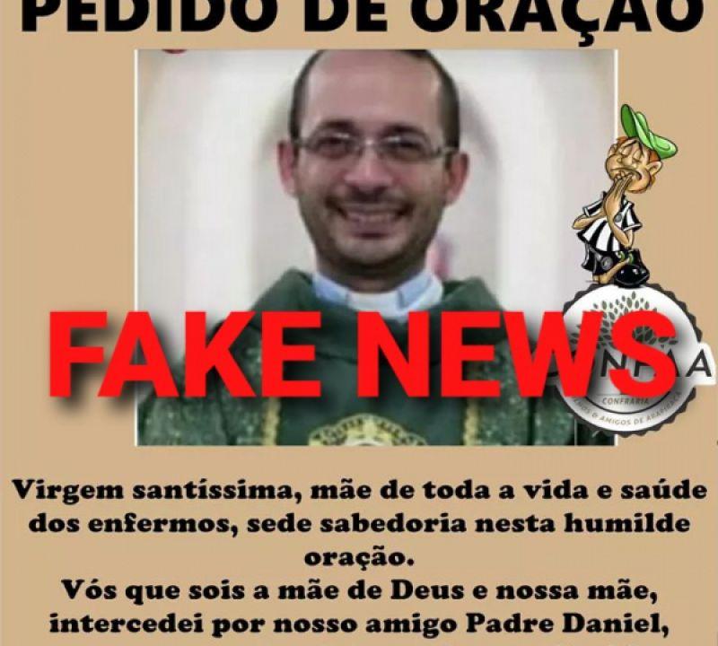 Fake News: padre de Penedo desmente que esteja internado em estado grave; ouça áudio!