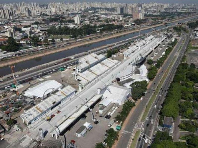 Quase tudo pronto no Anhembi para a Fórmula Indy
