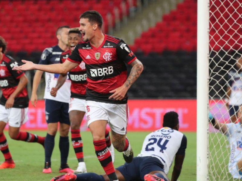 Libertadores: Flamengo derrota Junior Barranquilla por 3 a 1