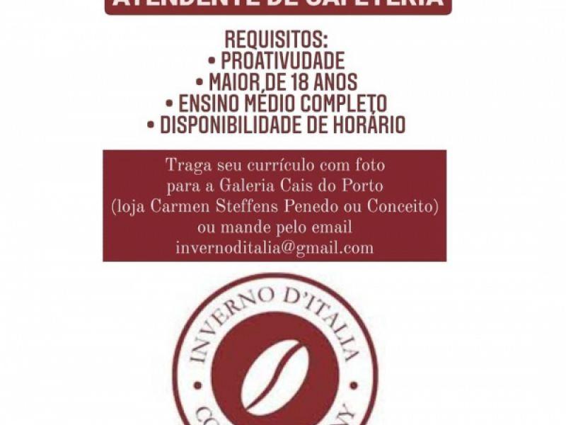 Cafeteria que será inaugurada em Penedo oferece oportunidade de emprego