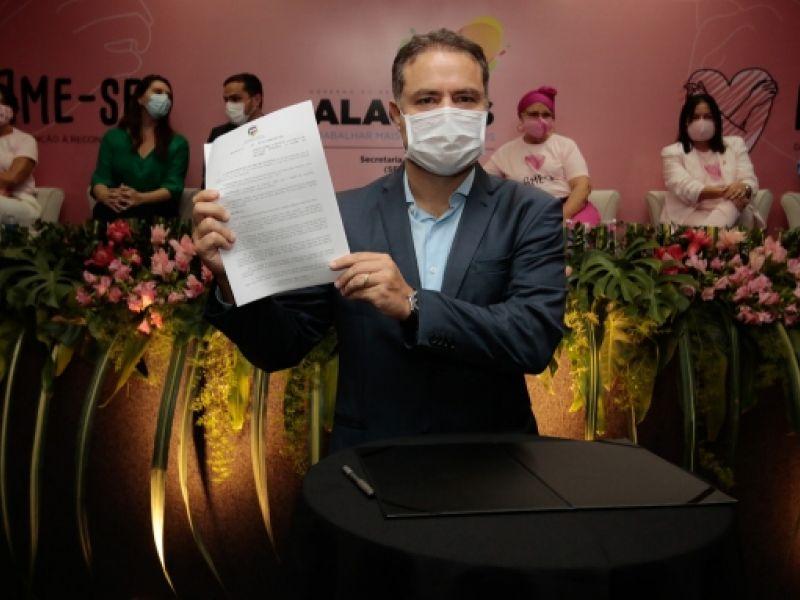 Governador assina decreto que estabelece a Política de Atenção Integral à Saúde da Mulher