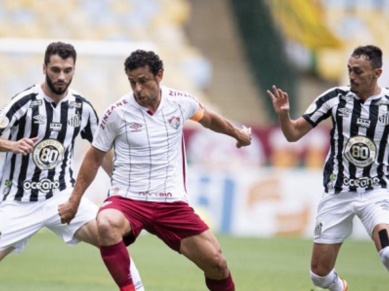 Fluminense vence o Santos e entra no G-4 do Campeonato Brasileiro
