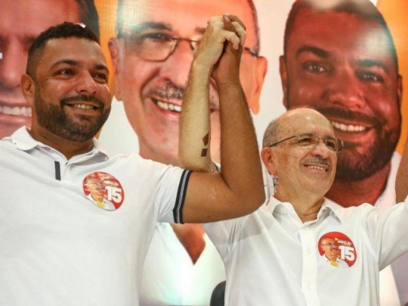 Ronaldo Lopes e João Lucas são eleitos prefeito e vice-prefeito de Penedo