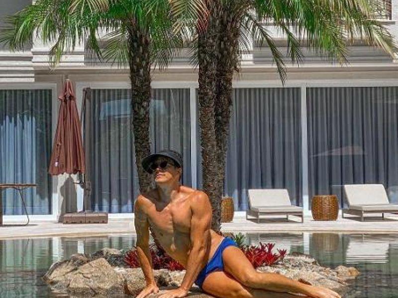 Rodrigo Faro nega ostentação após foto de piscina: 'Comecei com R$ 2 mil'