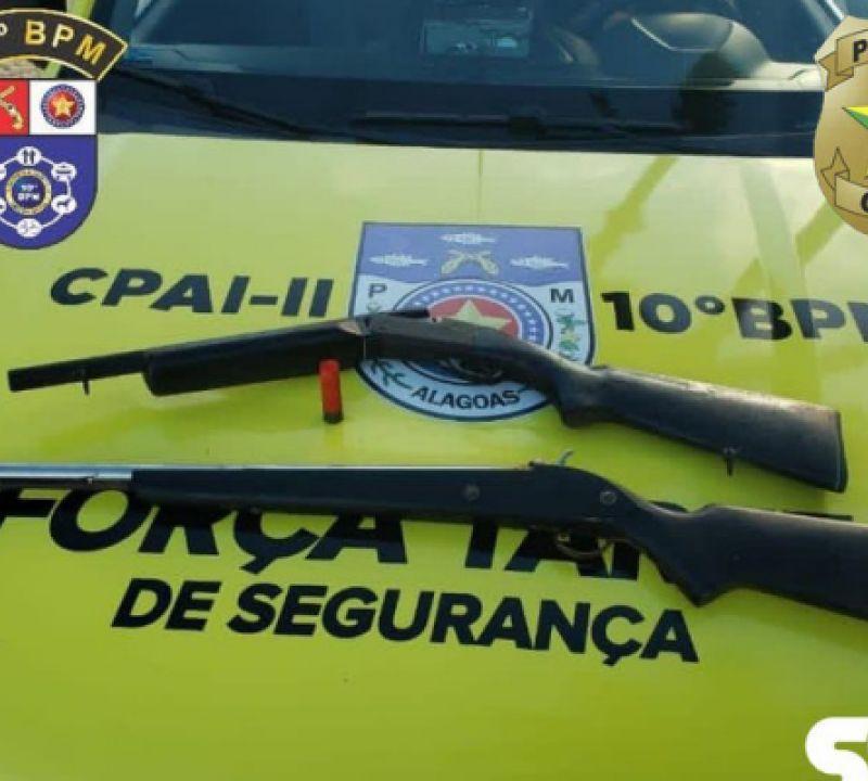 Operação integrada cumpre 13 mandados de busca em Palmeira dos Índios