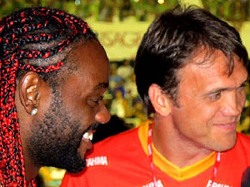 Petkovic volta a treinar com o grupo do Flamengo