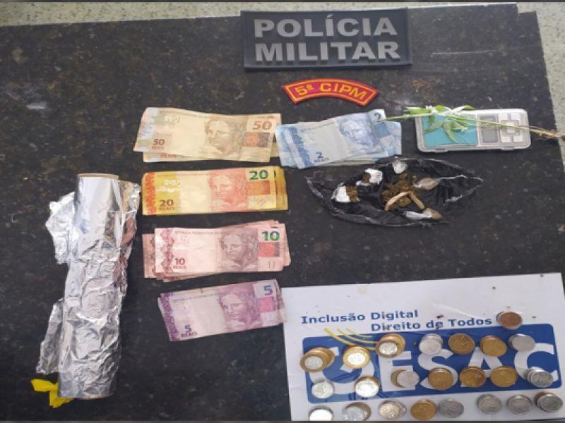 Mototaxista acusado de tráfico de entorpecentes é preso pela Polícia Militar em Neópolis-SE