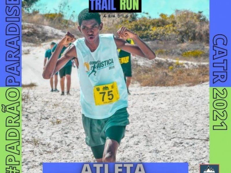 Atleta representará Penedo em abertura do Campeonato Alagoano de Trail Run
