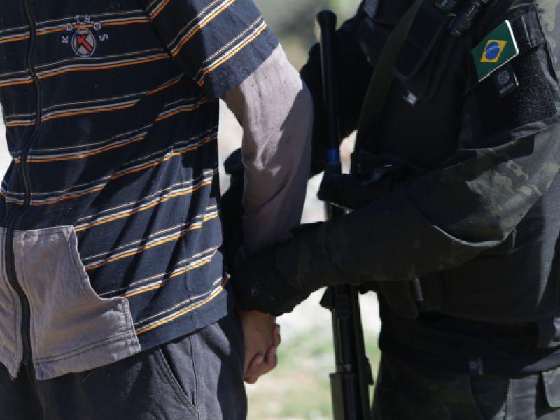 Polícia Civil prende em Propriá-SE suspeito de homicídio que era considerado foragido