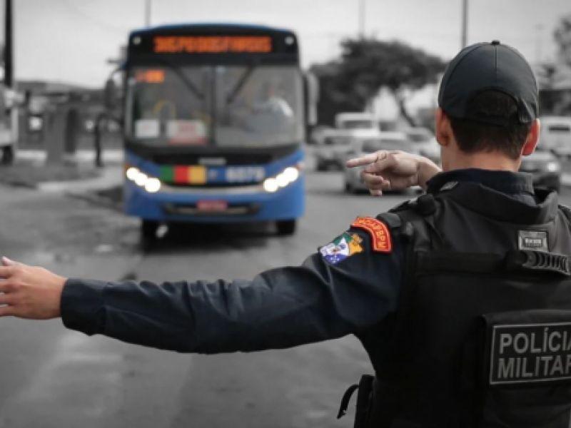 Na Grande Aracaju, roubos a ônibus caem quase 63% em 2020