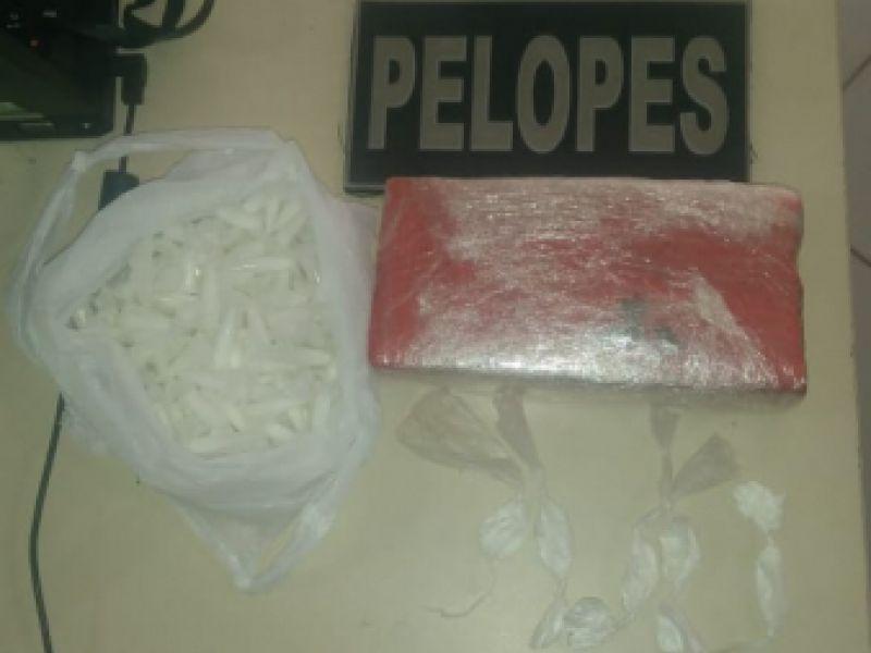 Operação em Penedo resulta na prisão de uma mulher e quatro homens por tráfico de drogas