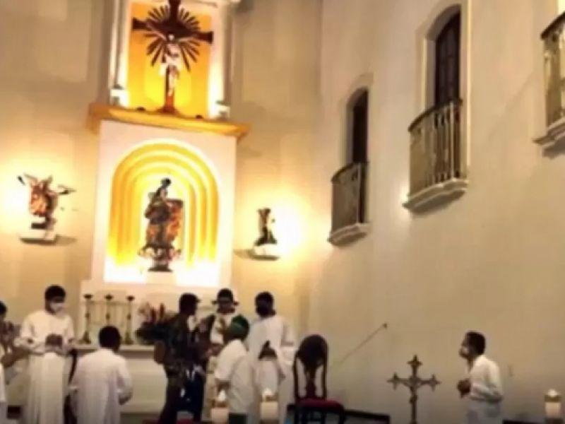 Homem invade igreja e tenta agredir ex-padre de Penedo em São Miguel dos Campos
