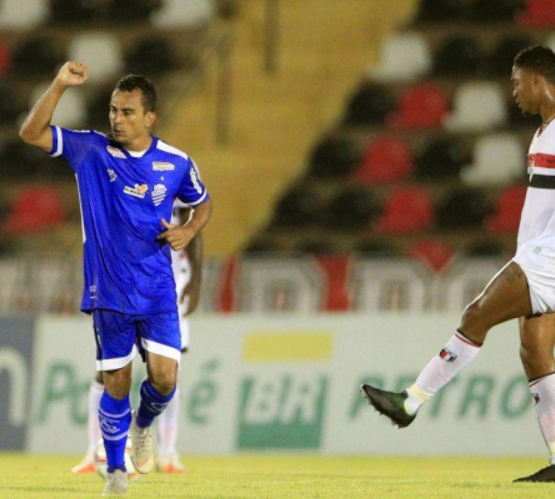 CSA vence o Botafogo (SP) e volta ao G-4 da Série B do Campeonato Brasileiro