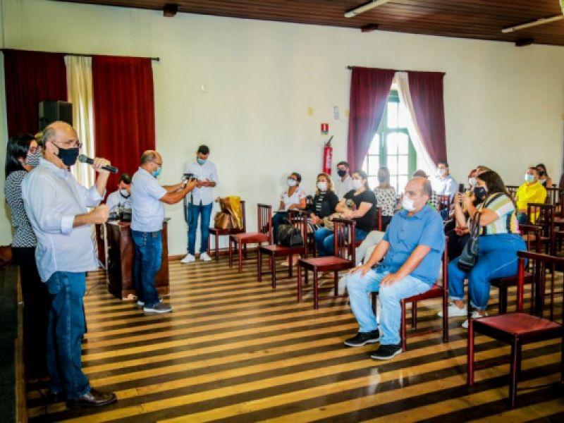 Semdsh Penedo participa de capacitação sobre sistema Cria-Criança Alagoana