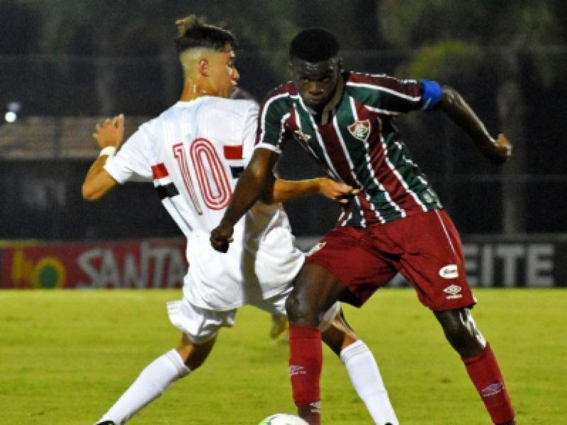 São Paulo e Fluminense empatam no primeiro jogo da final da Copa Brasil Sub-17