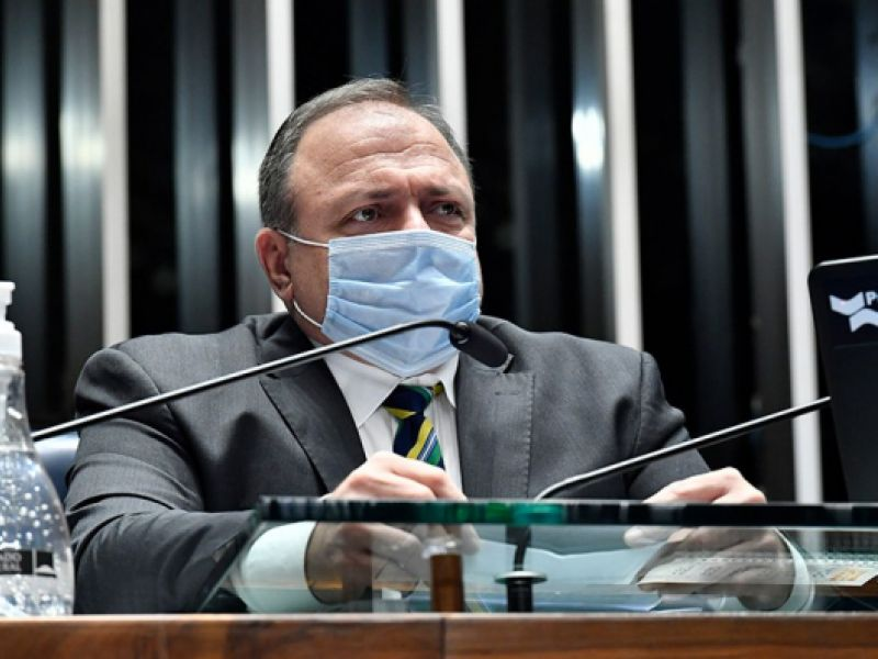 Ministro da Saúde diz que toda a população será vacinada até o fim do ano
