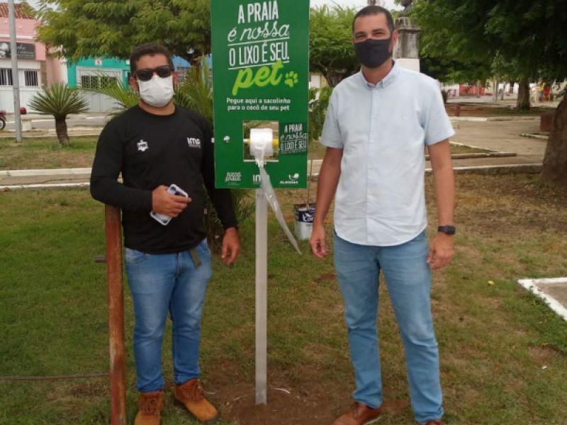 SEMARH Penedo e IMA realizam campanha ambiental para donos de cães