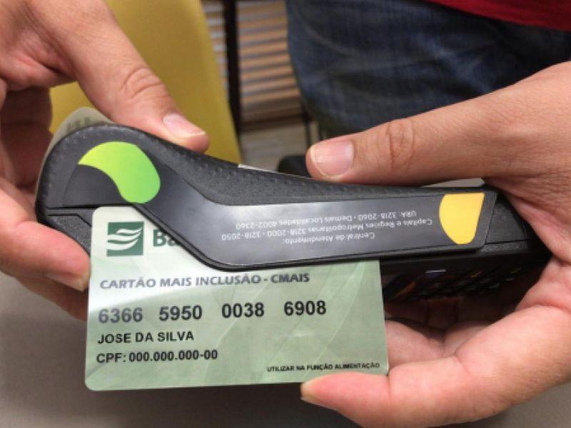 Governo autoriza prorrogação do benefício emergencial do Cartão Mais Inclusão até julho