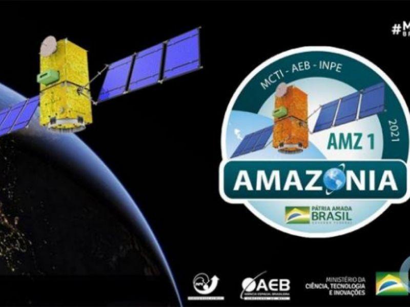 Ciência em festa: Amazônia 1 é lançado ao espaço