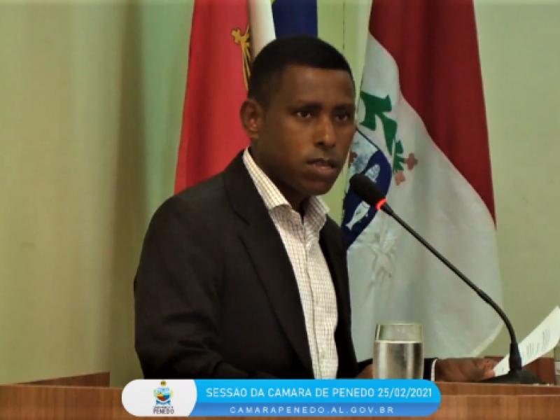 Presidente do Conselho Tutelar é sabatinado na Câmara Municipal de Penedo