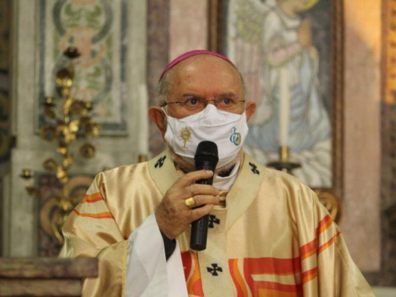 Arcebispo alerta padres e fiéis sobre continuidade do distanciamento social