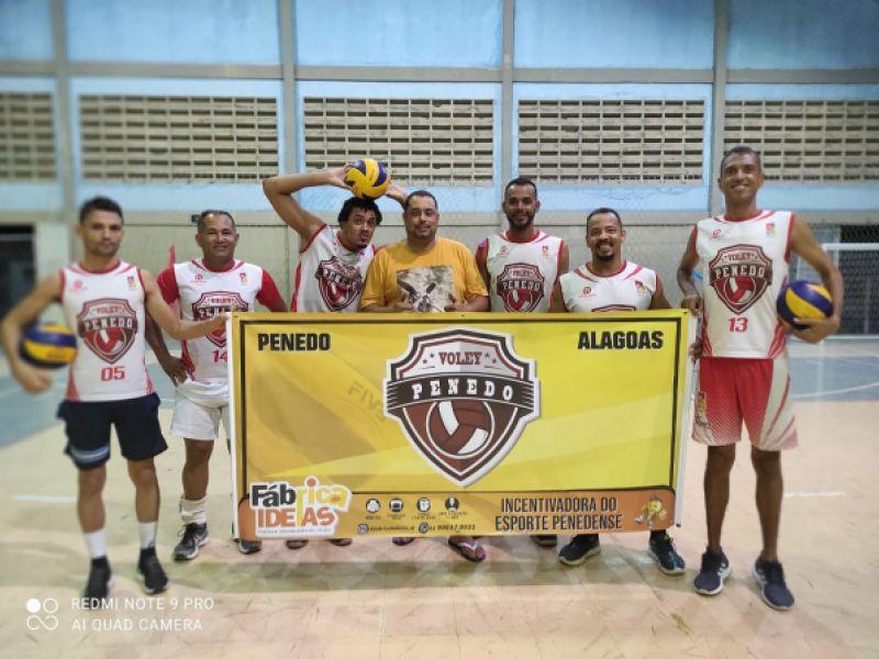 Equipe de vôlei de Penedo se destaca e consegue título em campeonato alagoano