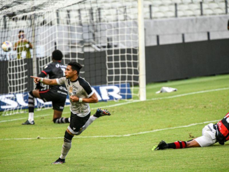 Copa do Nordeste: No Castelão, o Ceará bateu o time do Vitória por 3 a 1