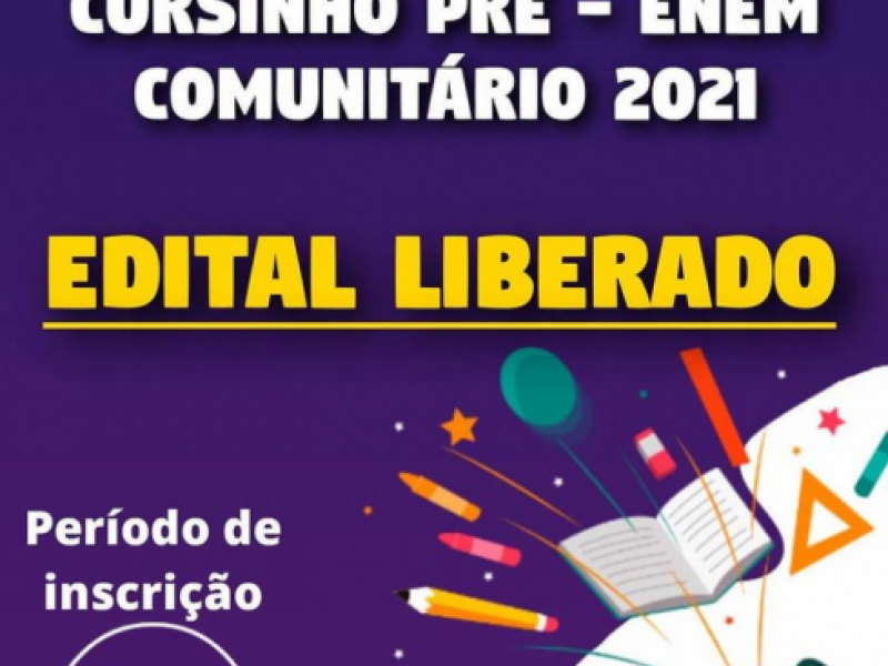 Cursinho Pré-Enem Comunitário 2021
