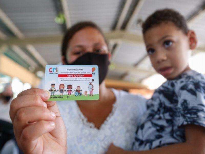 Governo inicia entrega do Cartão Cria em Maceió na próxima segunda-feira (22)