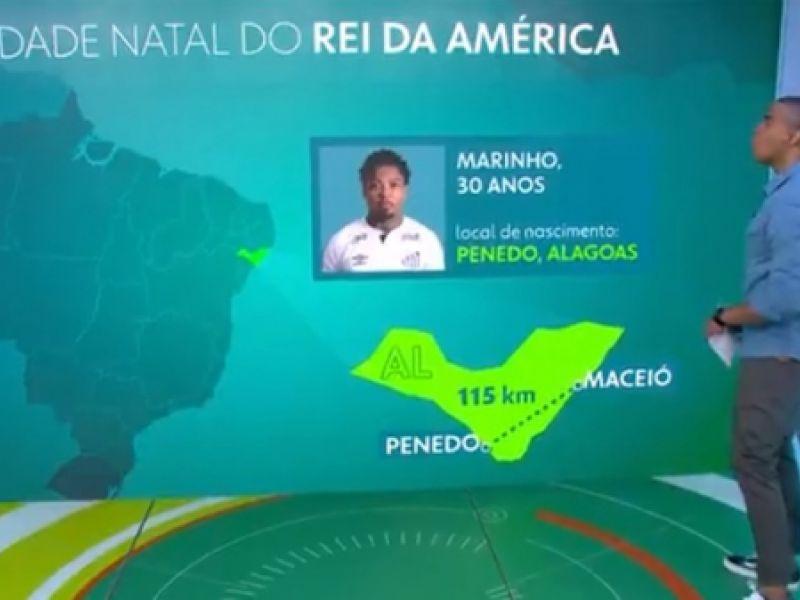 Jogador penedense Marinho é destaque no Esporte Espetacular, da Rede Globo