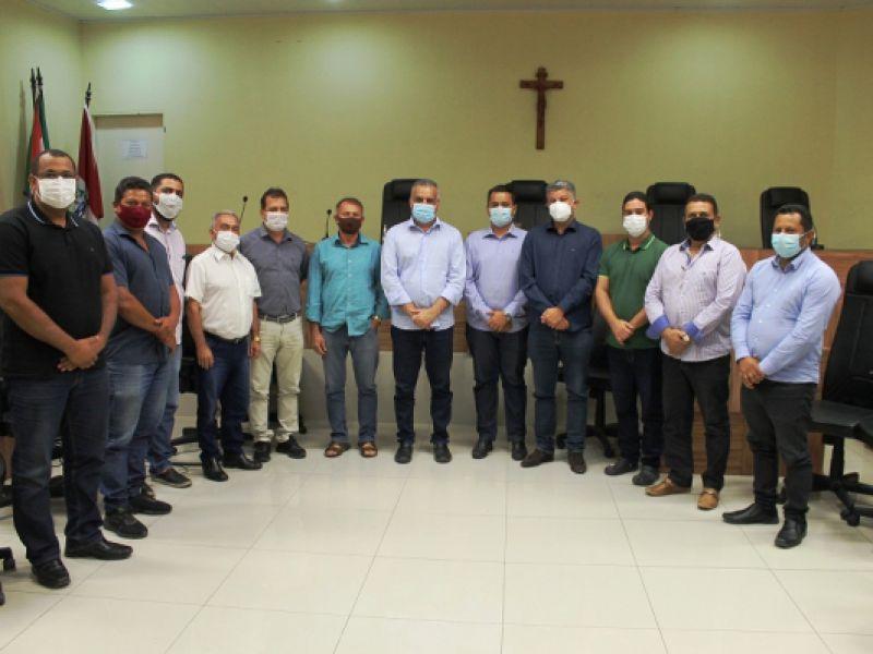 Vereadores debatem segurança em Penedo com Secretário Alfredo Gaspar de Mendonça