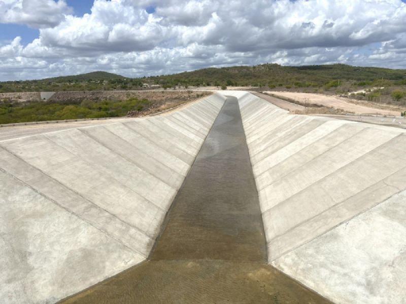Infraestrutura realiza últimos testes para a conclusão do trecho IV do Canal do Sertão