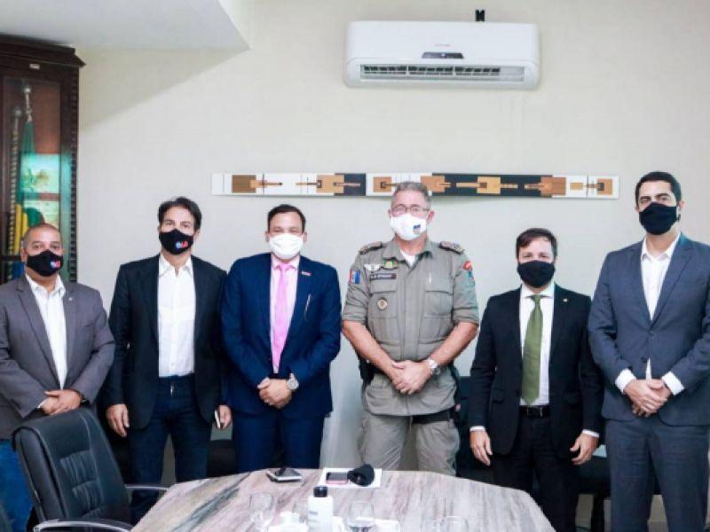 OAB Alagoas se reúne com comandante-geral da PM para tratar de implantação de Sala de Estado Maior