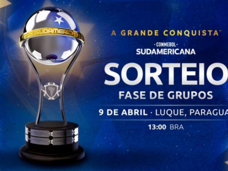 Conmebol sorteia grupos da Sul-Americana 2021 e brasileiros conhecem adversários