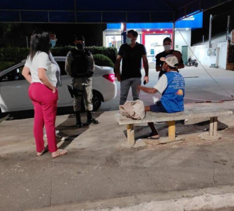 11º BPM realiza ação conjunta voltada aos grupos vulneráveis de Penedo