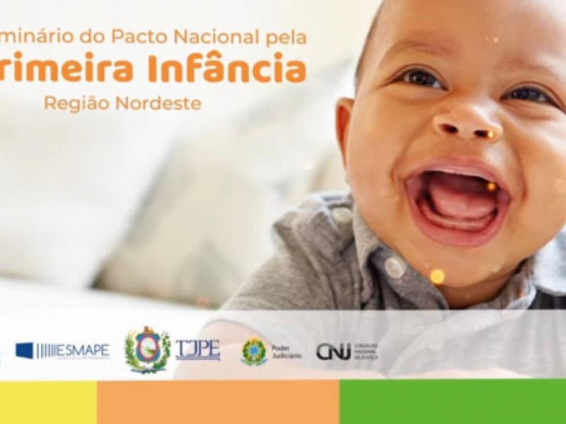 Governo de Sergipe adere ao Pacto Nacional pela Primeira Infância