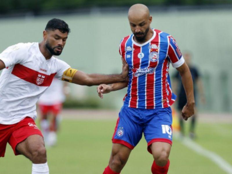 Bahia goleia o CRB e garante vaga na semifinal da Copa do Nordeste