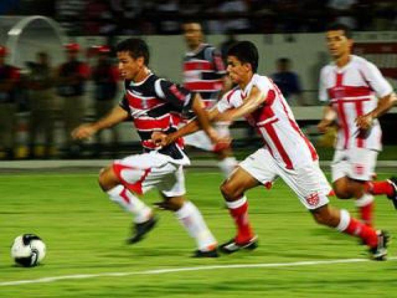 CRB empatou com Santa Cruz em pleno estádio do Arruda