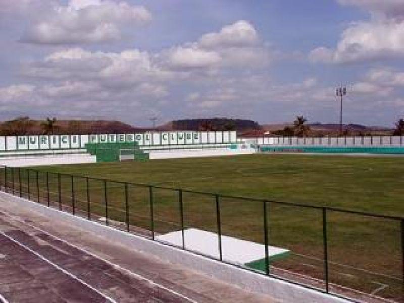 Estádio de Murici também foi aprovado pela Comissão de Vistorias