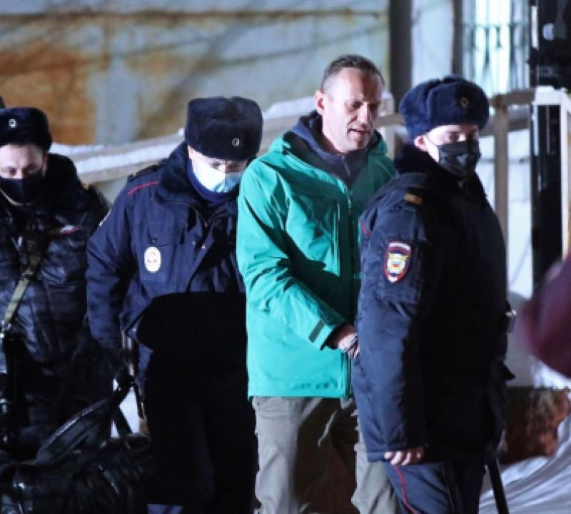 Polícia russa deteve 1.784 pessoas durante manifestações pró-Navalny