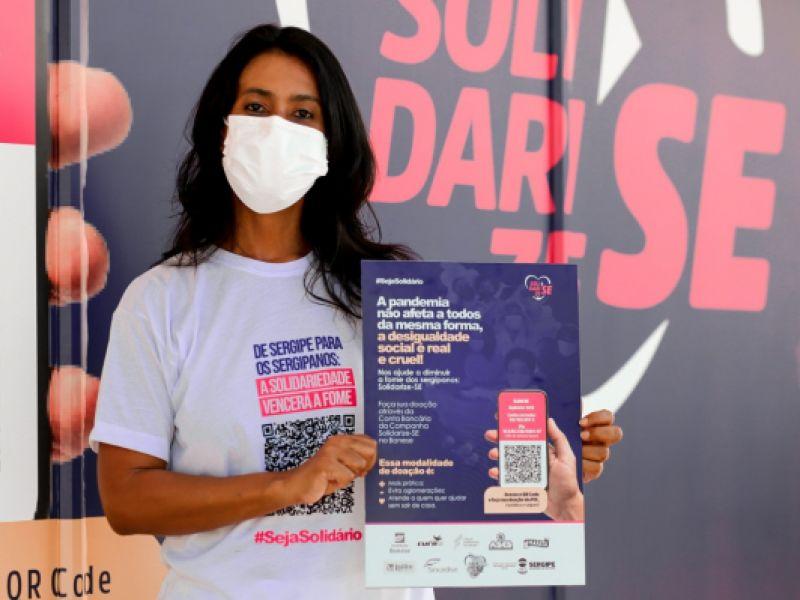 Governo de Sergipe e parceiros lançam 3ª etapa da Campanha Solidarize-SE com drive-thru