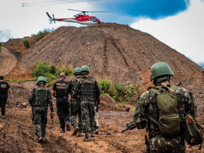 Meio ambiente: combate à atividade ilegal de mineração no Pará