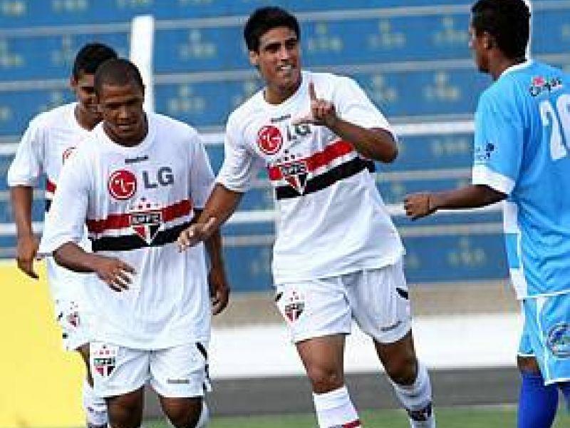 CSA não resistiu a superioridade do São Paulo e acabou goleado
