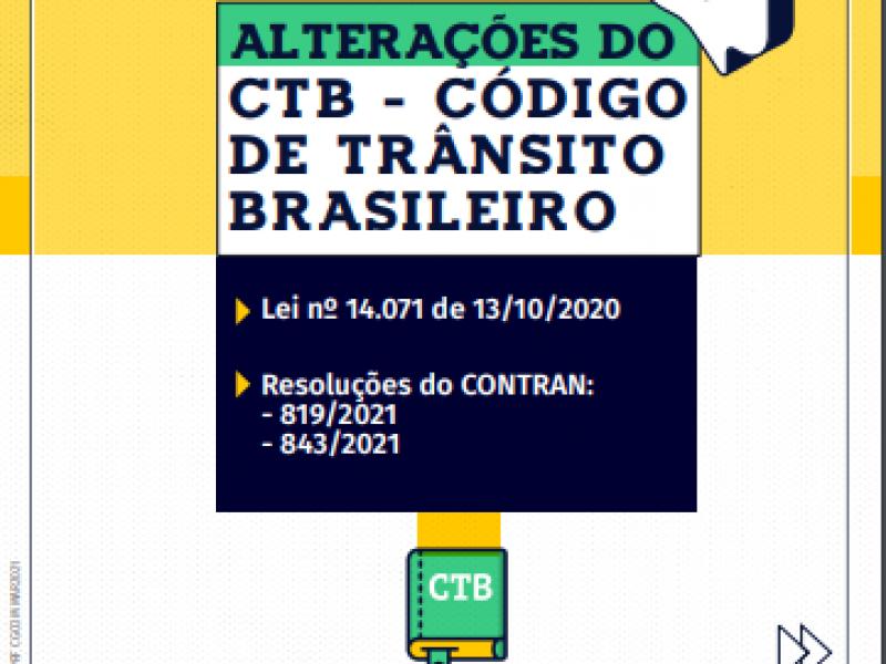 Cuidado para não ser multado. Confira as novas regras do Código de Trânsito Brasileiro